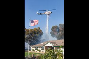 Rotor-wing aircraft are the most versatile used in wildland incident management. (Photo by Tod Sudmeier.)