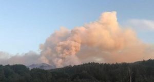 Gales Fire in Oregon