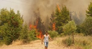 Wildfires in Greece