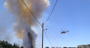 New wildfires outside Athens